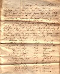 1838 GLOG Lodges 1
