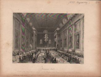 1839 freemasons hall engraving