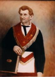 1846 to 1869 Grand Secretary Simri Rose
