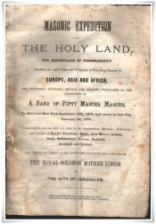 1874 144 Day Masonic Expedition 1