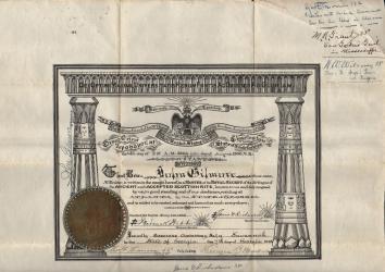1906 john gilmore aasr patent a