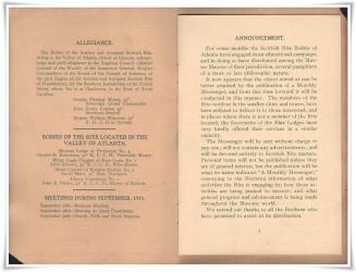1915 scottish rite messenger vol 1 2