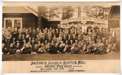 1918 May AASR Calvin Fay Class