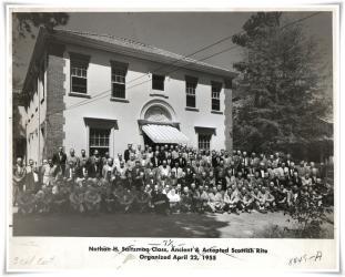 1955 April Saltzman Class