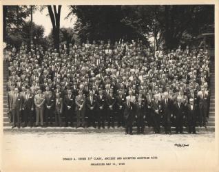 1968 May AASR Dewald A Cohen Class