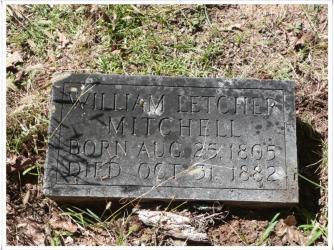 mitchell grave marker